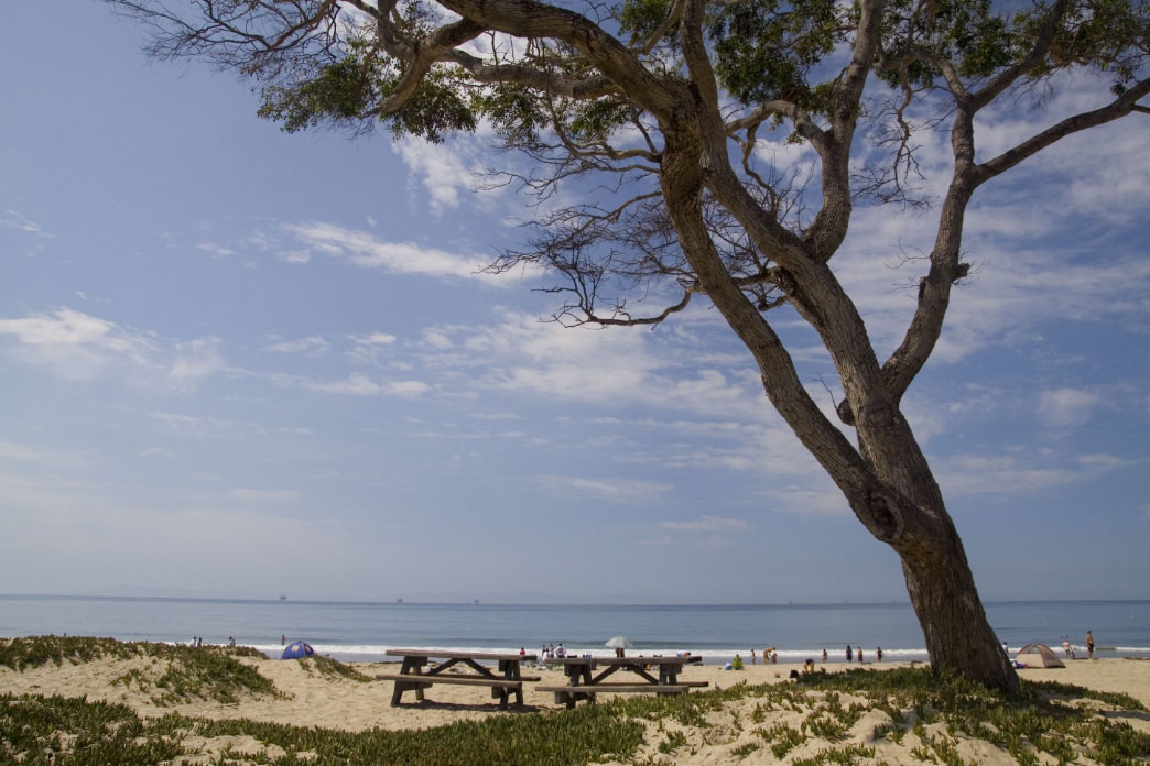 You can plan an overnight stay at Carpinteria State Beach.