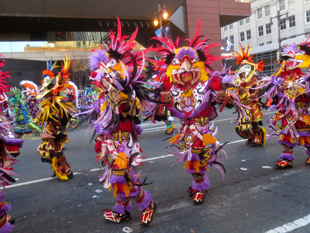 The Mummers' Parade is one of the longest running traditions in Philadelphia.