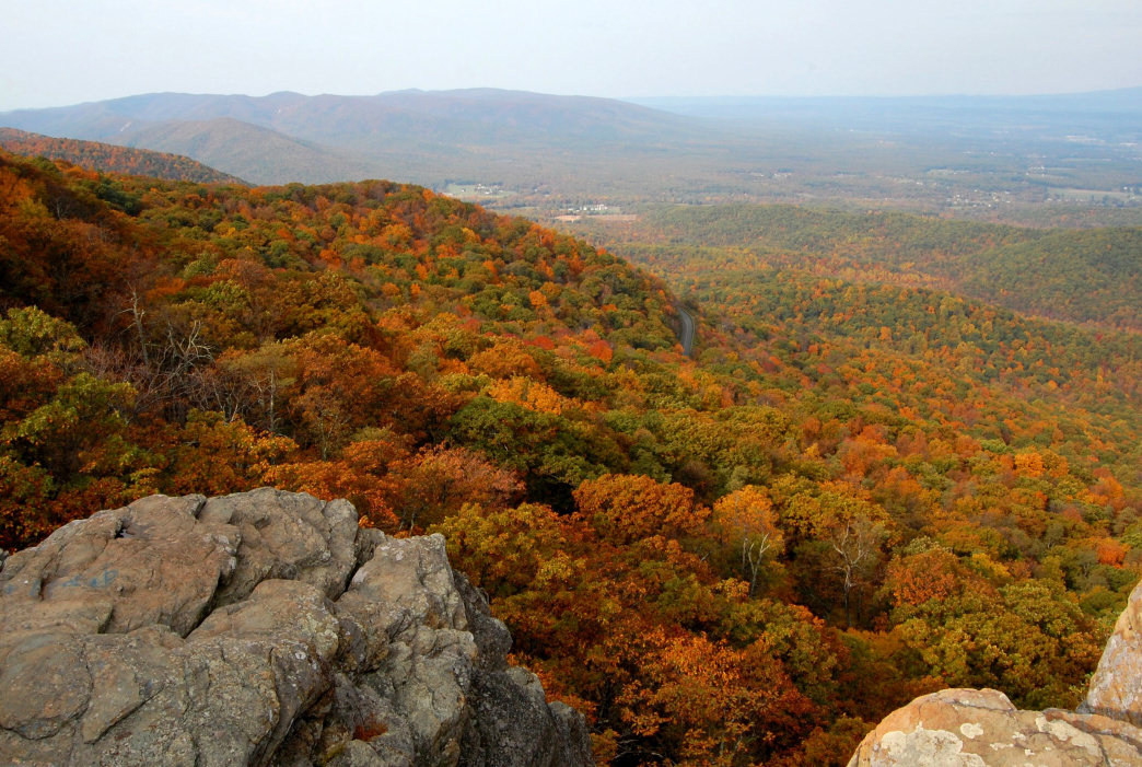The Valley offers one of the best vantage points for the fiery seasonal transition.