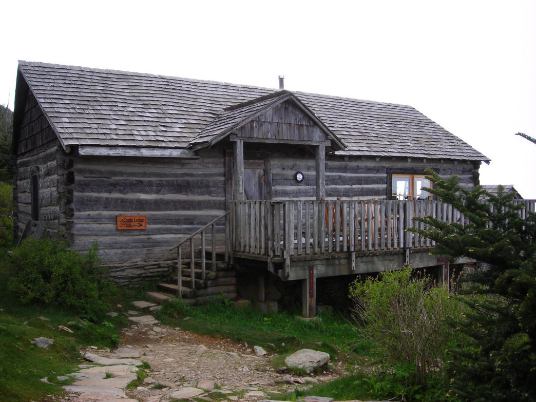 The cabins on Mt. LeConte are the highest guest quarters in the eastern United States.