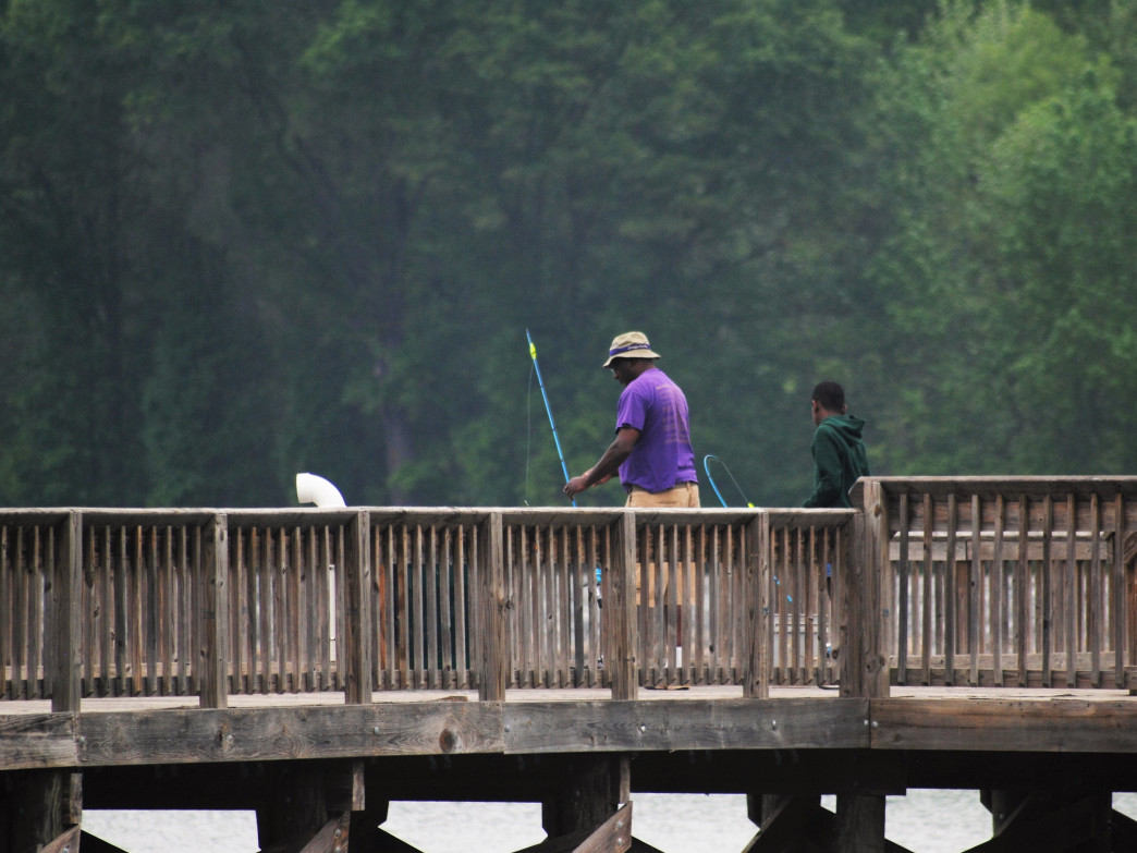 The free tackle loaner program makes Rankin Lake a great spot for a first fishing trip