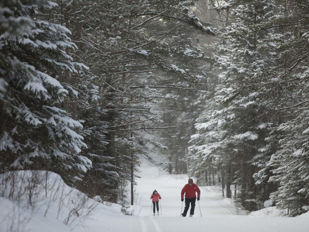 Minocqua Winter Park features 6,500 acres of gorgeous winter landscapes.