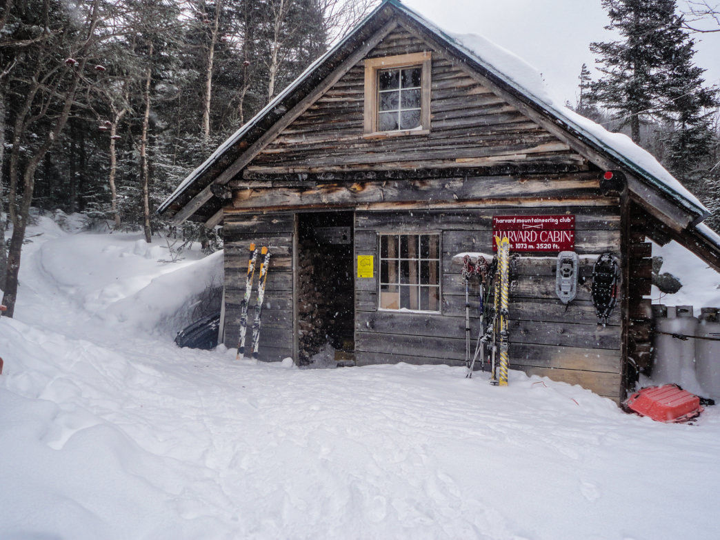 Harvard Cabin offers some cozy digs in the heart of the Mount Washington backcountry.