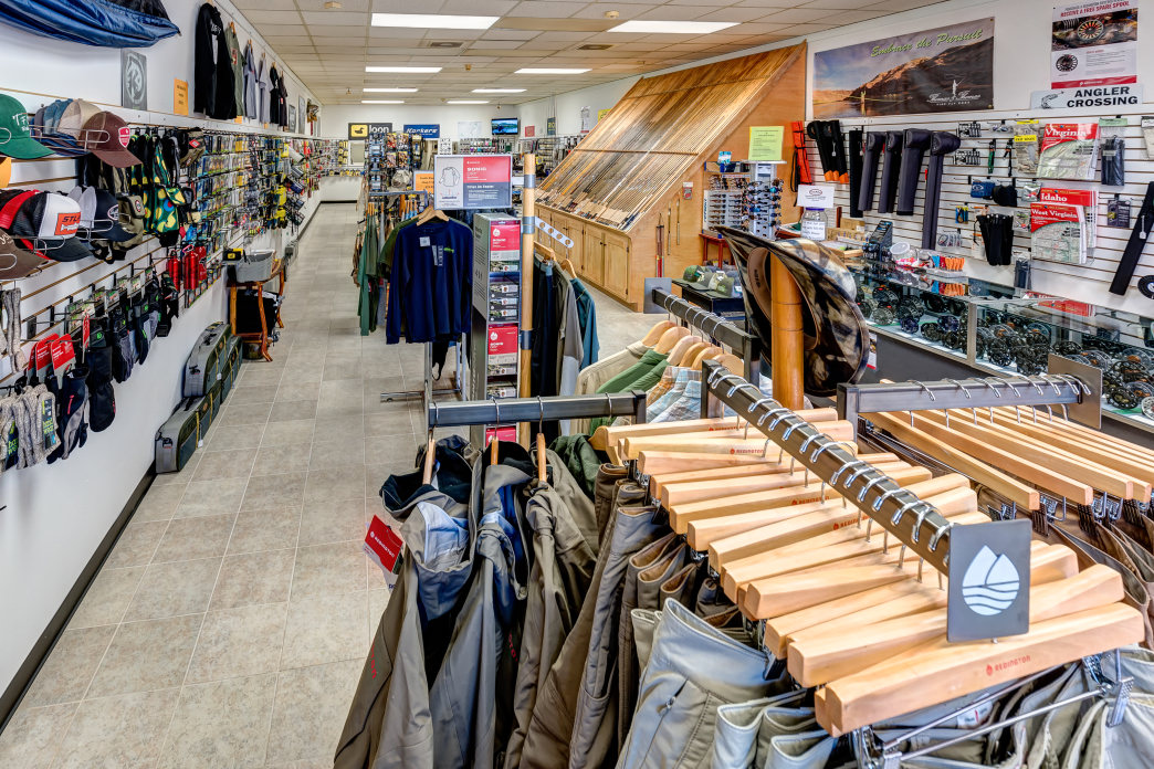 South River Fly Shop has everything an angler could need.