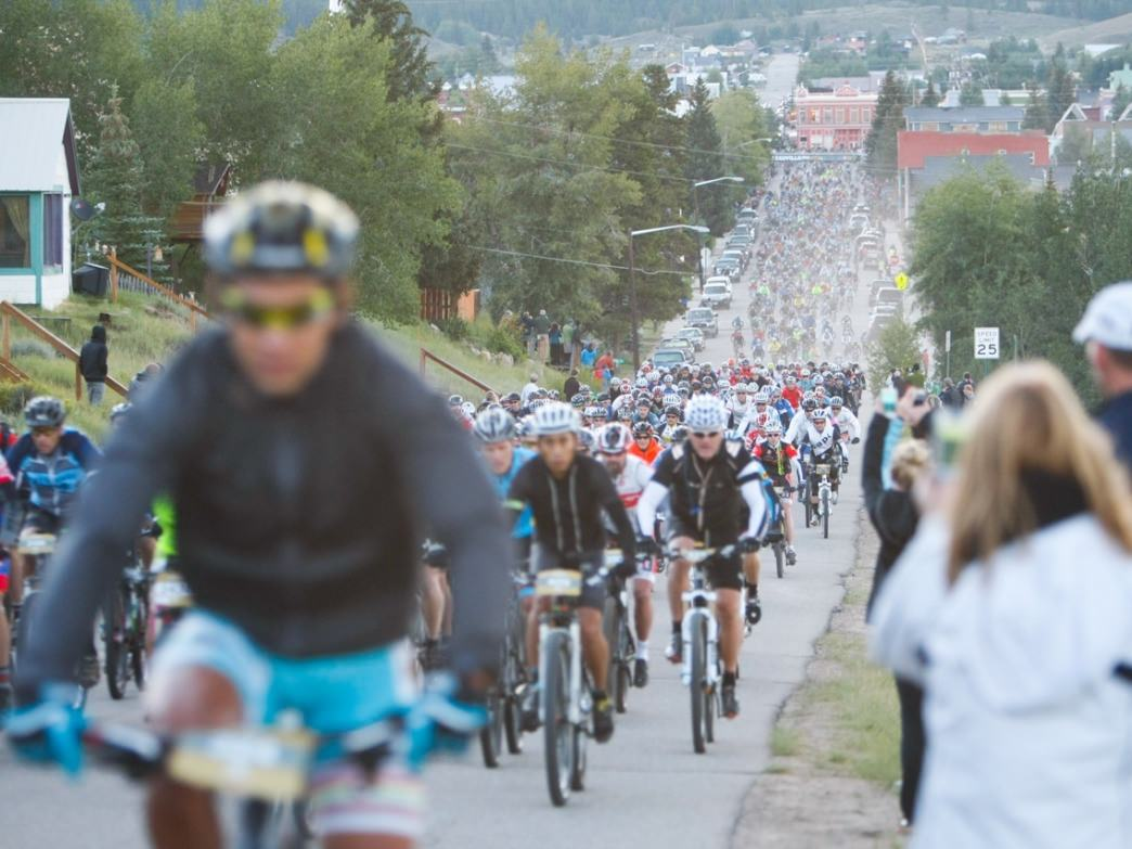 Practice in a mass start will help you know what to expect come race day, when 2,000 riders launch from the starting line in Leadville.