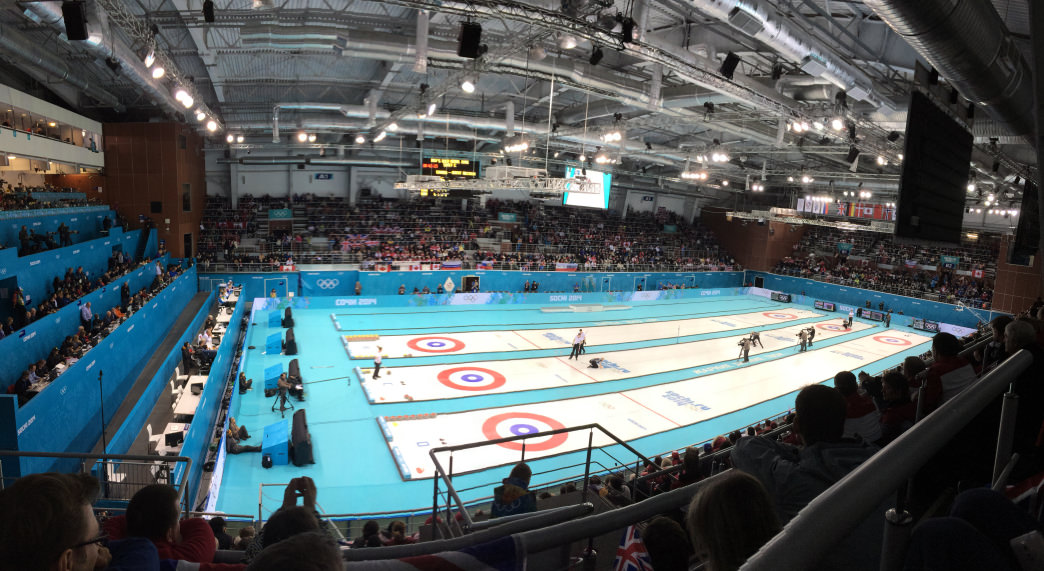 Curling debuted at the first Olympic Winter Games in 1924.