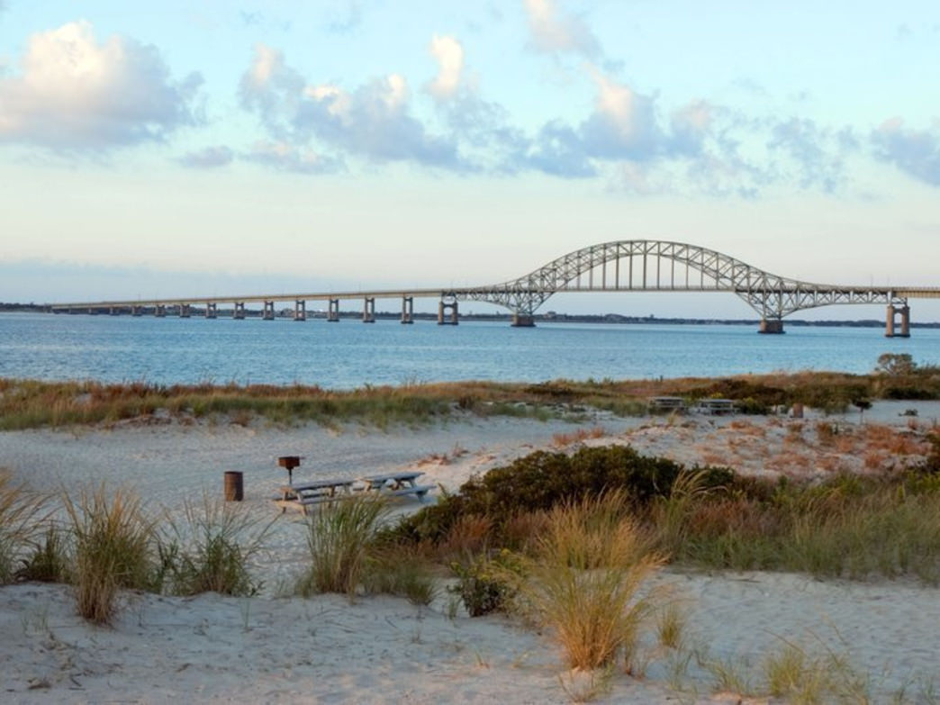 A View Of The Causeway From Robert Moses State Park