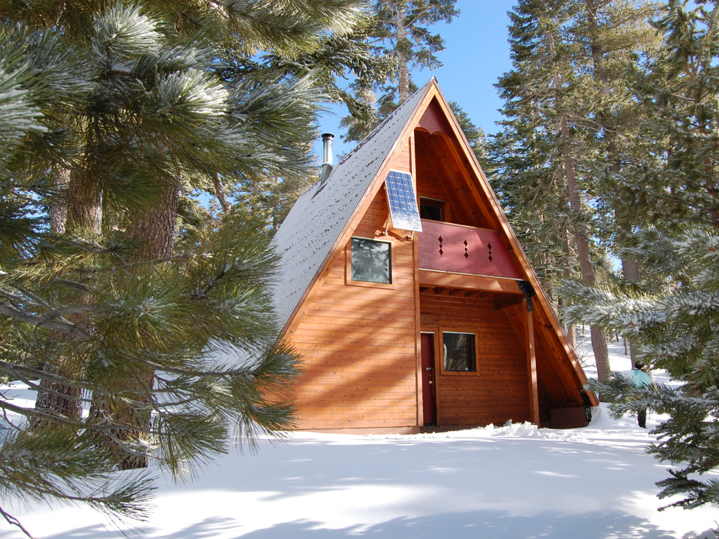 The Bradley Hut is part of the Sierra Club's network of winter backcountry huts around Lake Tahoe.