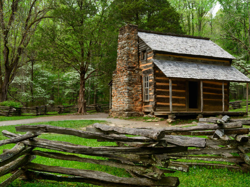 See historic sites like the John Oliver Cabin without enduring the standstill traffic of Cades Cove Loop.