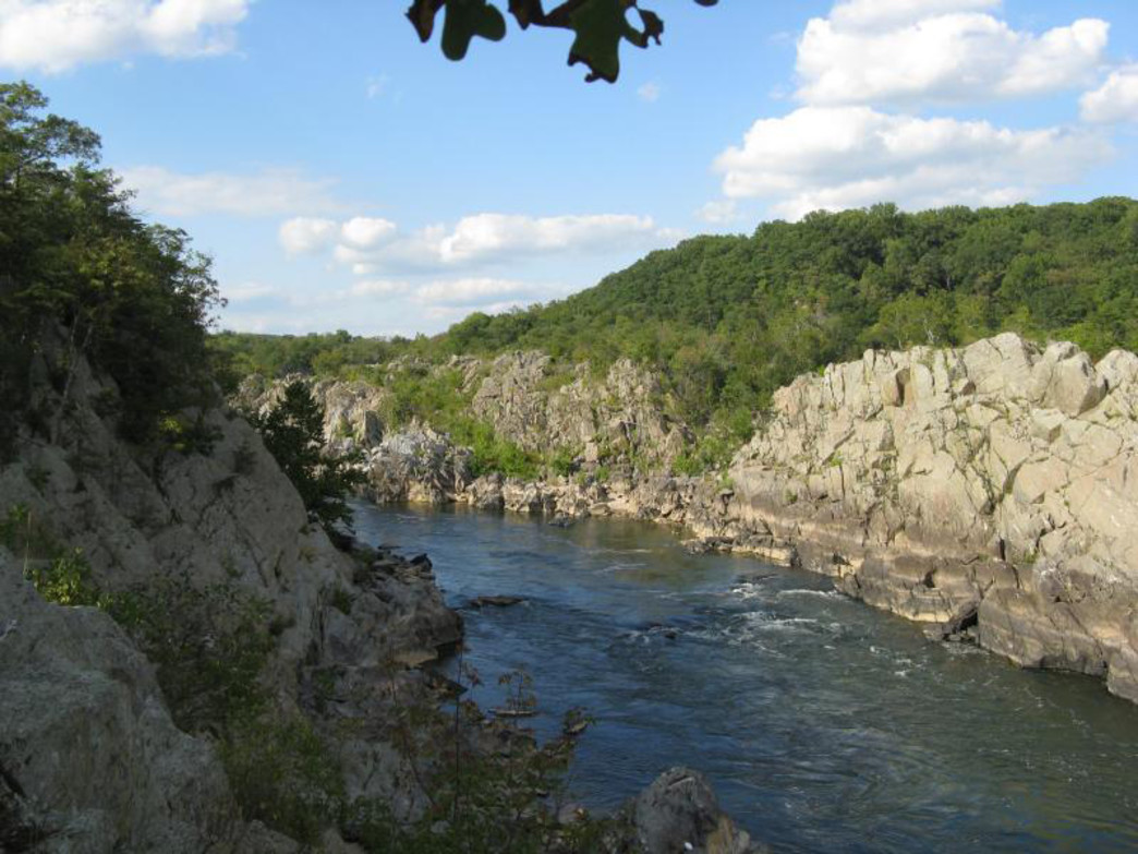 "Climbing in Great Falls Park offers stunning views of the Potomac River. Photo: <a href=""http://www.nps.gov/index.htm"" target=""_blank"">National Park Service</a>"
