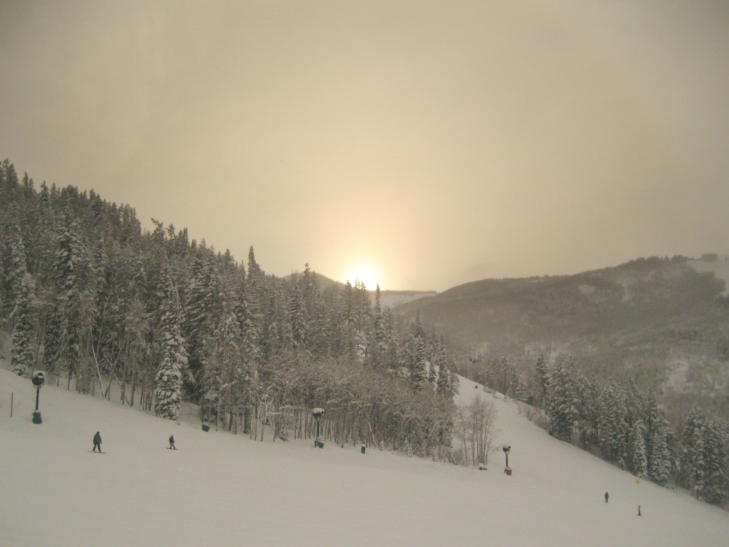 Beaver Mountain, with its uncrowded slopes and spectacular views, is a popular spot for locals in northern Utah.