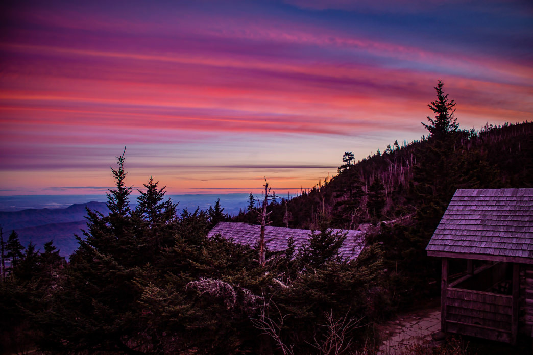 There's nothing quite like a sunrise in the Smokies.     Kristi Parsons