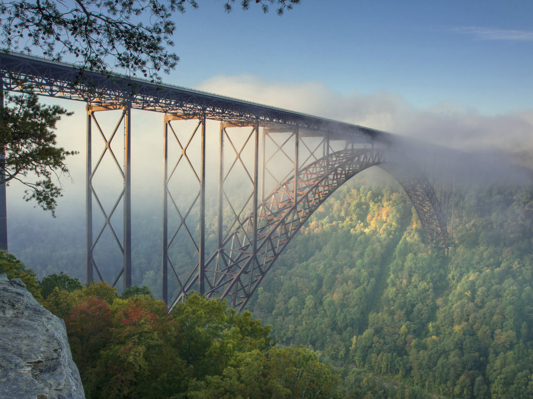 New River Gorge Bridge.