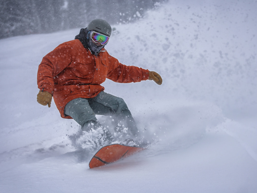 Don't be afraid to blow off everything all winter (except blower pow).