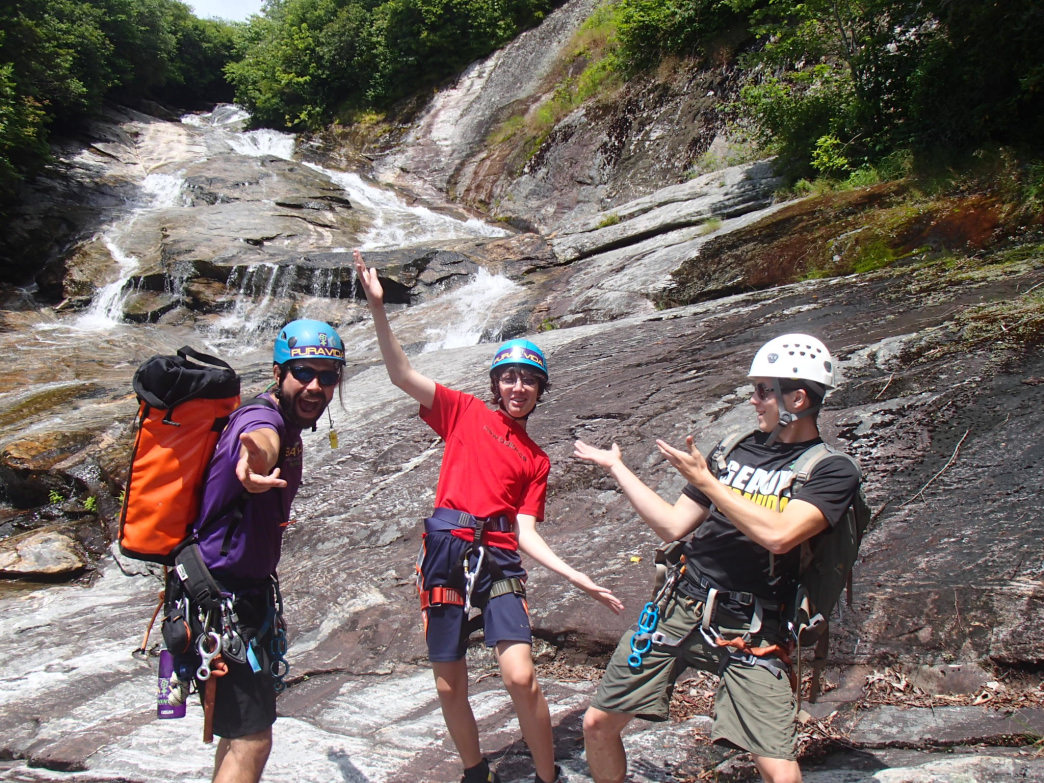 A guiding company like Pura Vida is a great resource for hiking, backpacking, and canyoneering trips.