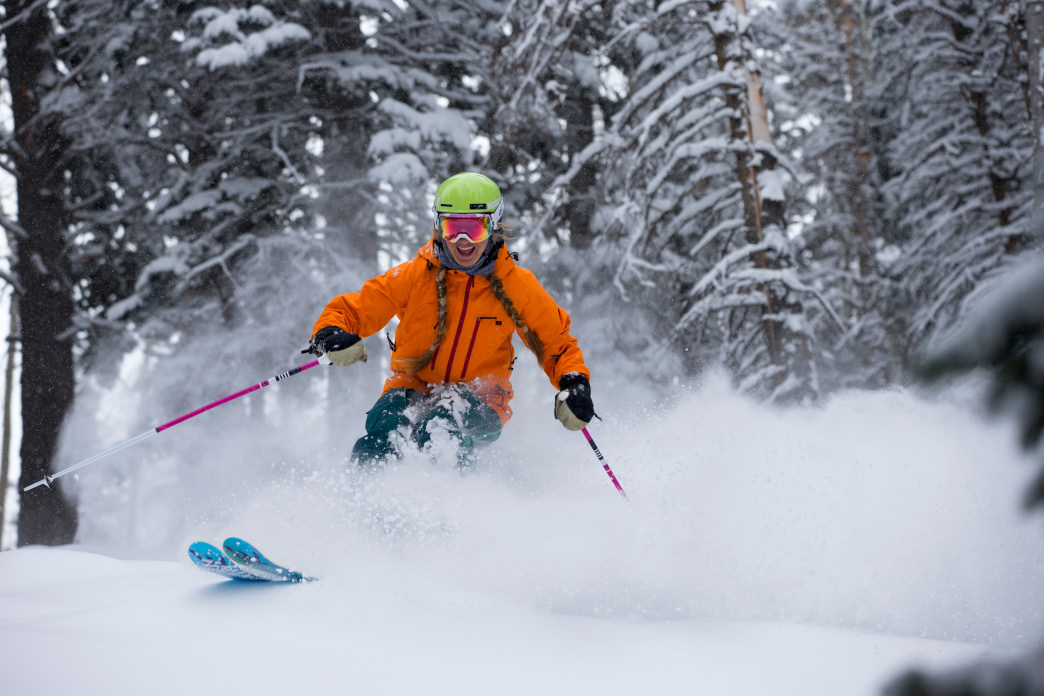 A perfect powder day at Deer Valley.