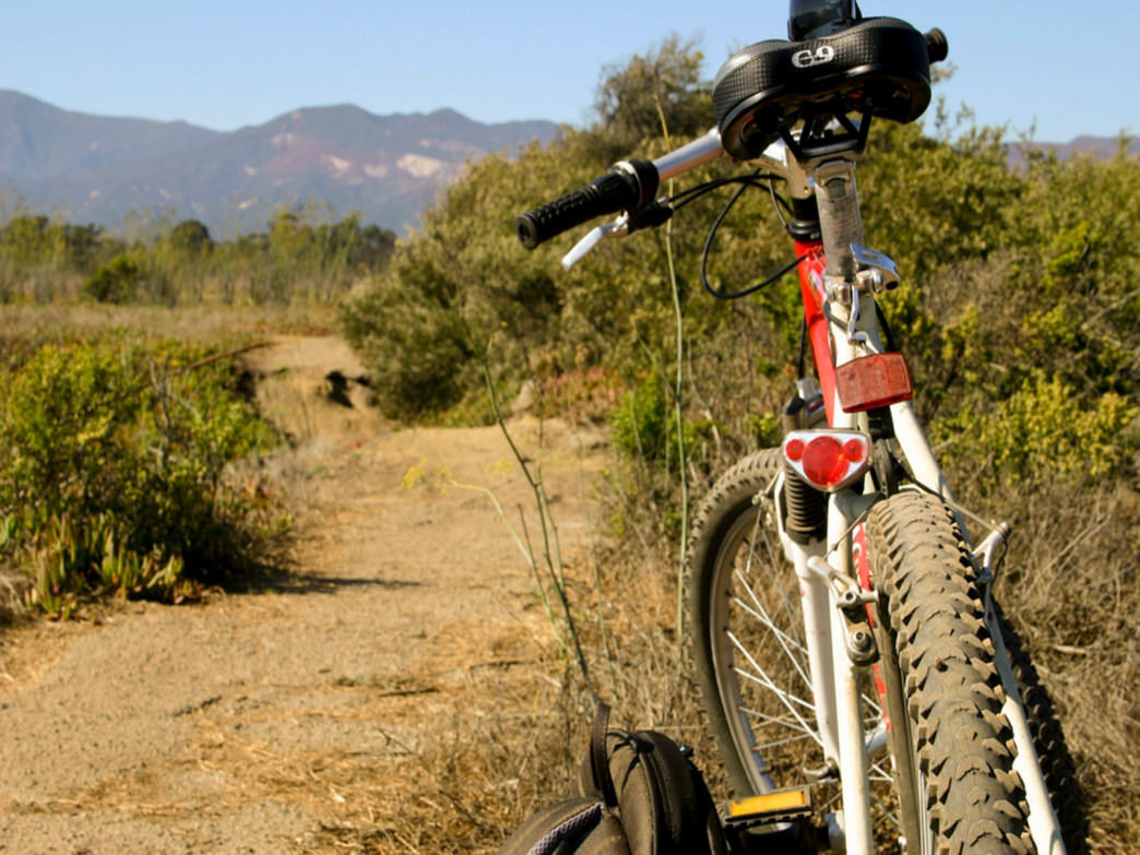 The Camuesa Connector is one of the top mountain bike trails in Santa Barbara.