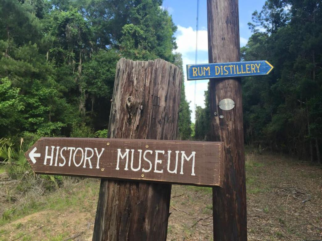 History museum one way, rum distillery the other—only on Daufuskie