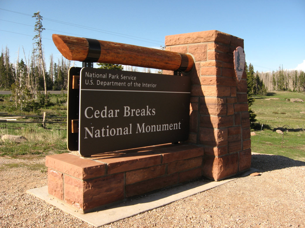 Cedar Breaks National Monument.