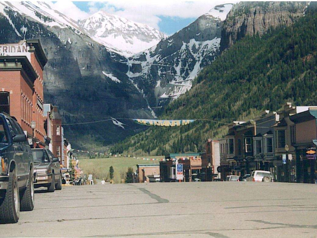 Photo: 1996 Telluride, courtesy of Horny Toad Activewear