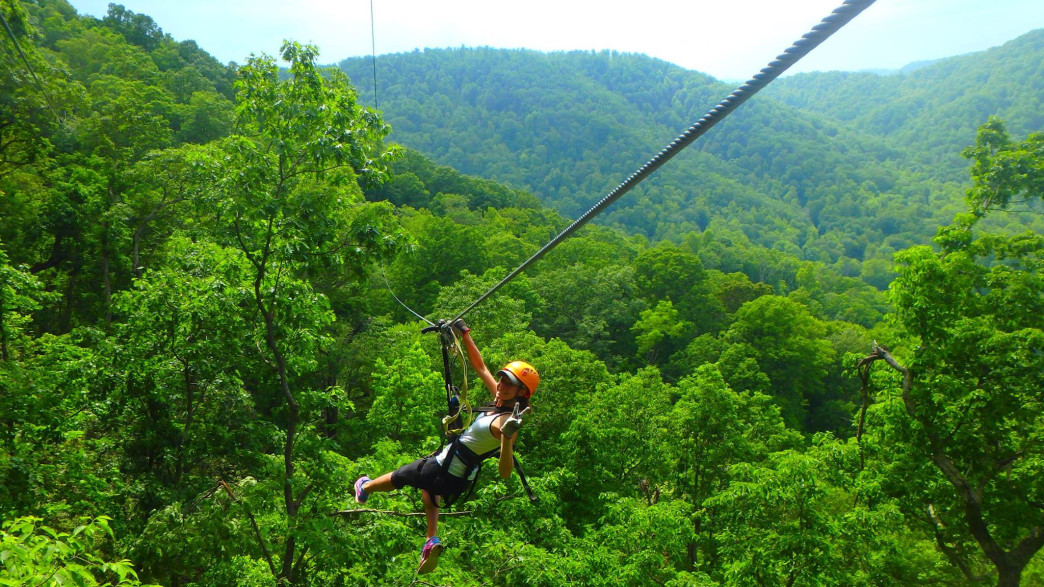 The Gorge Zip Line Canopy Tour