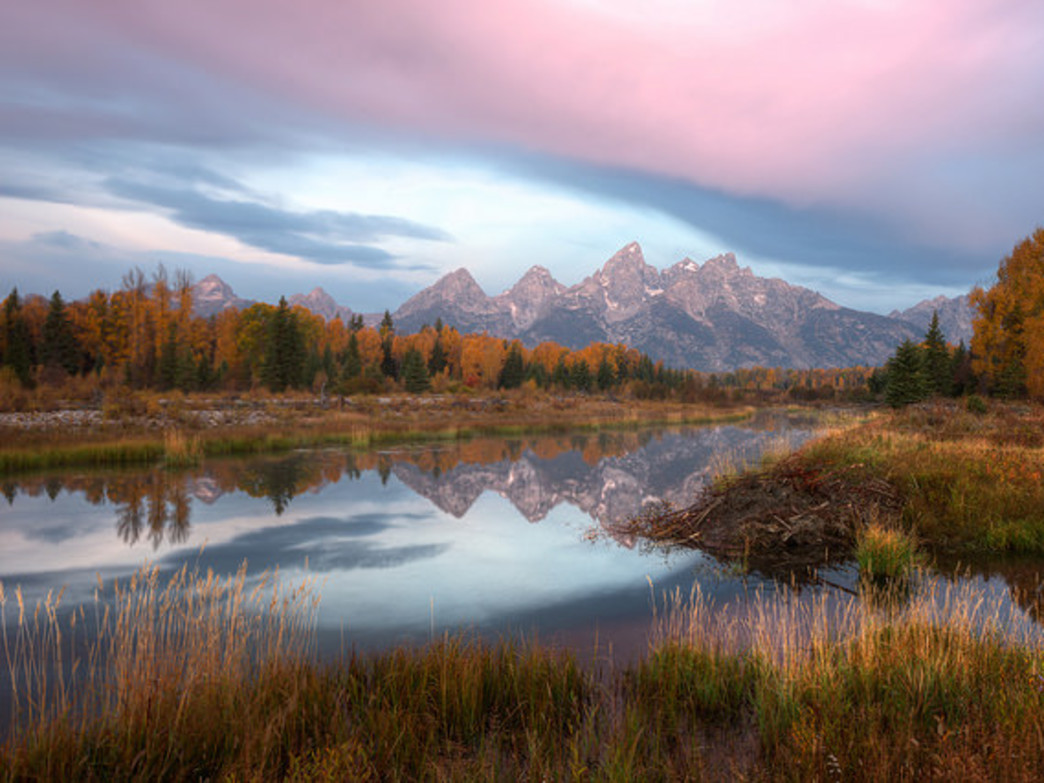 Grand Teton National Park is paradise for trail runners.