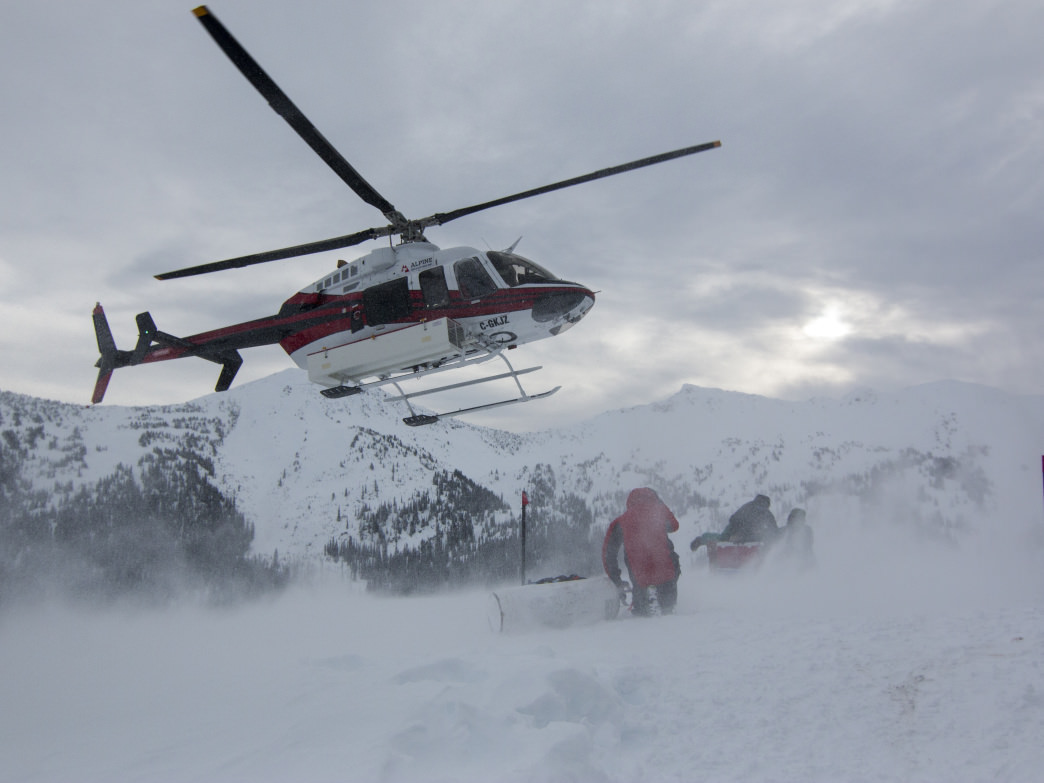 A heli-accessed ski-touring trip is a totally different (and more approachable) kind of heli-skiing.