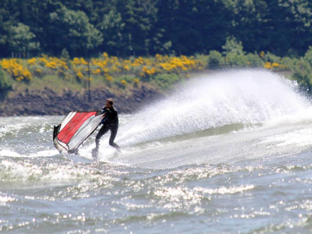The Hood River area is top destination for windsurfers from around the world.