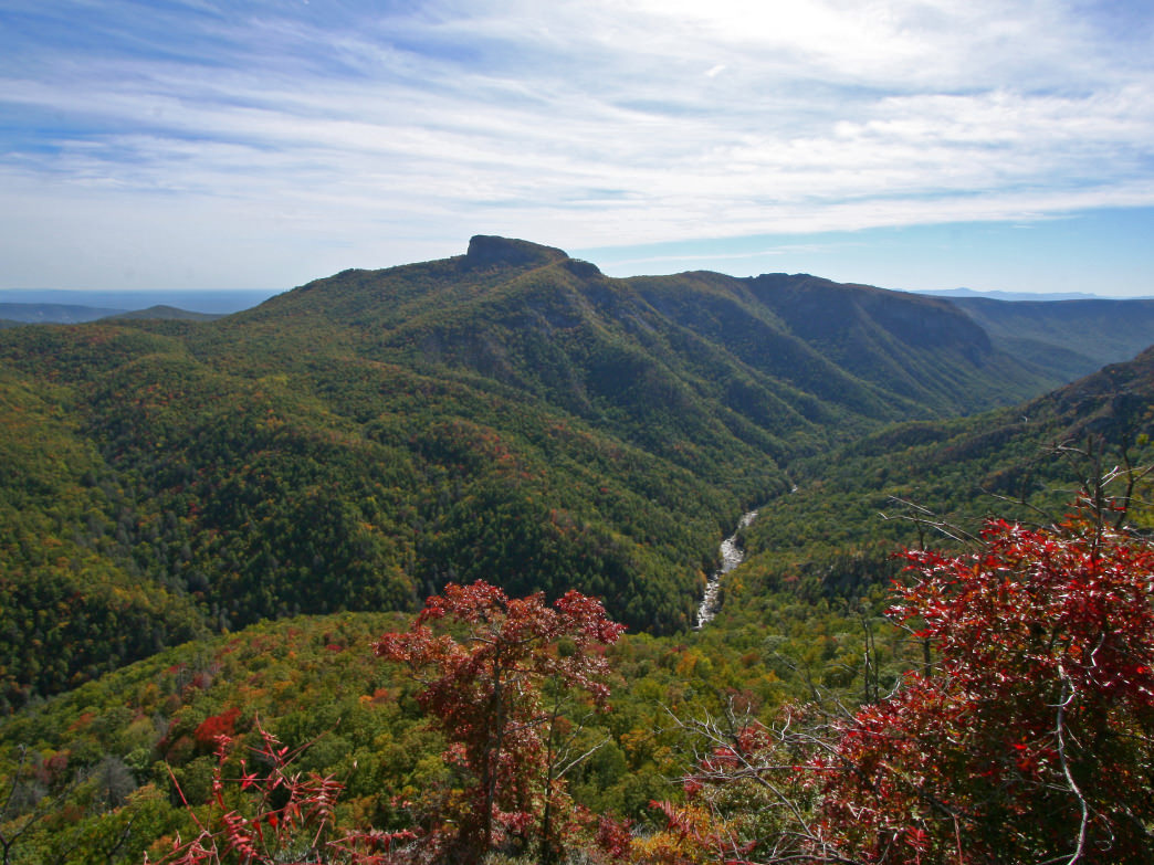 Linville Gorge is a rugged trek for even the most experienced hiker.