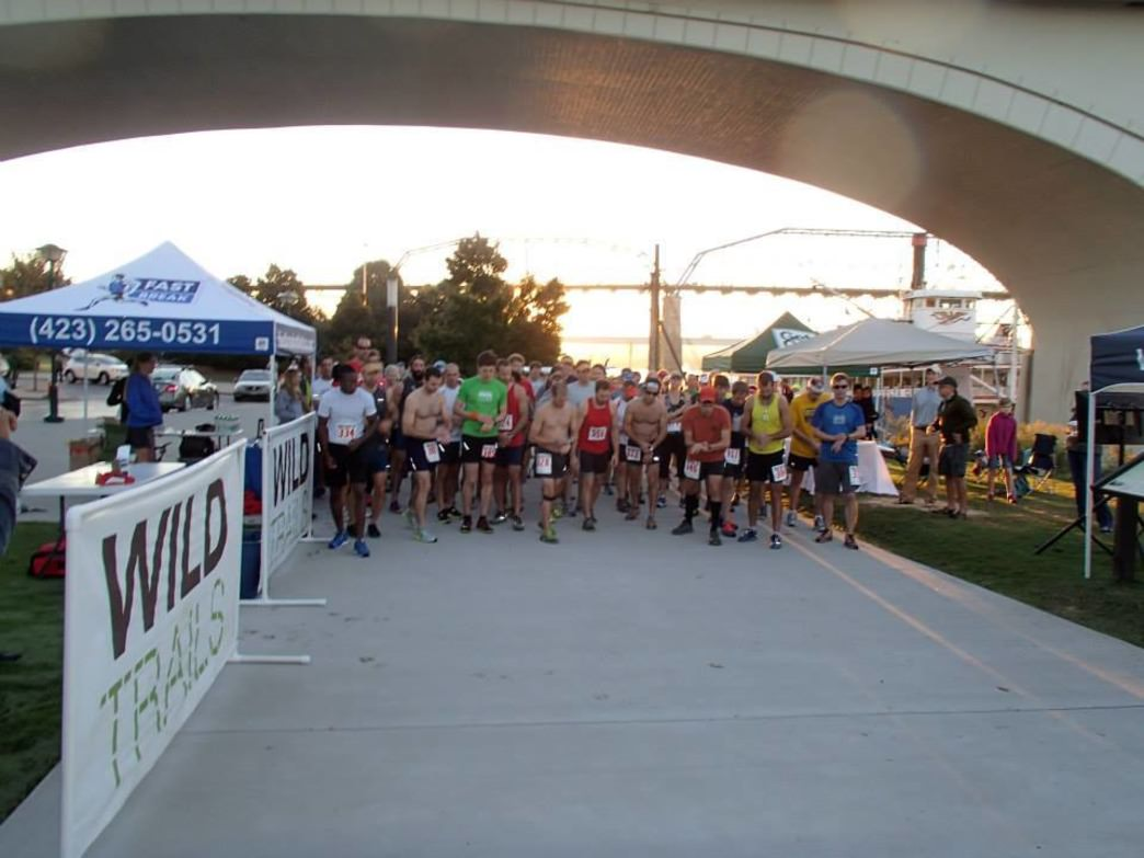 The starting line of the 2014 Urban Nature 10K
