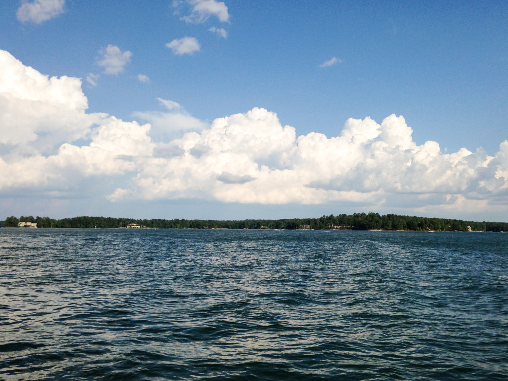 Central Alabama's Lake Martin is especially shines in summer.