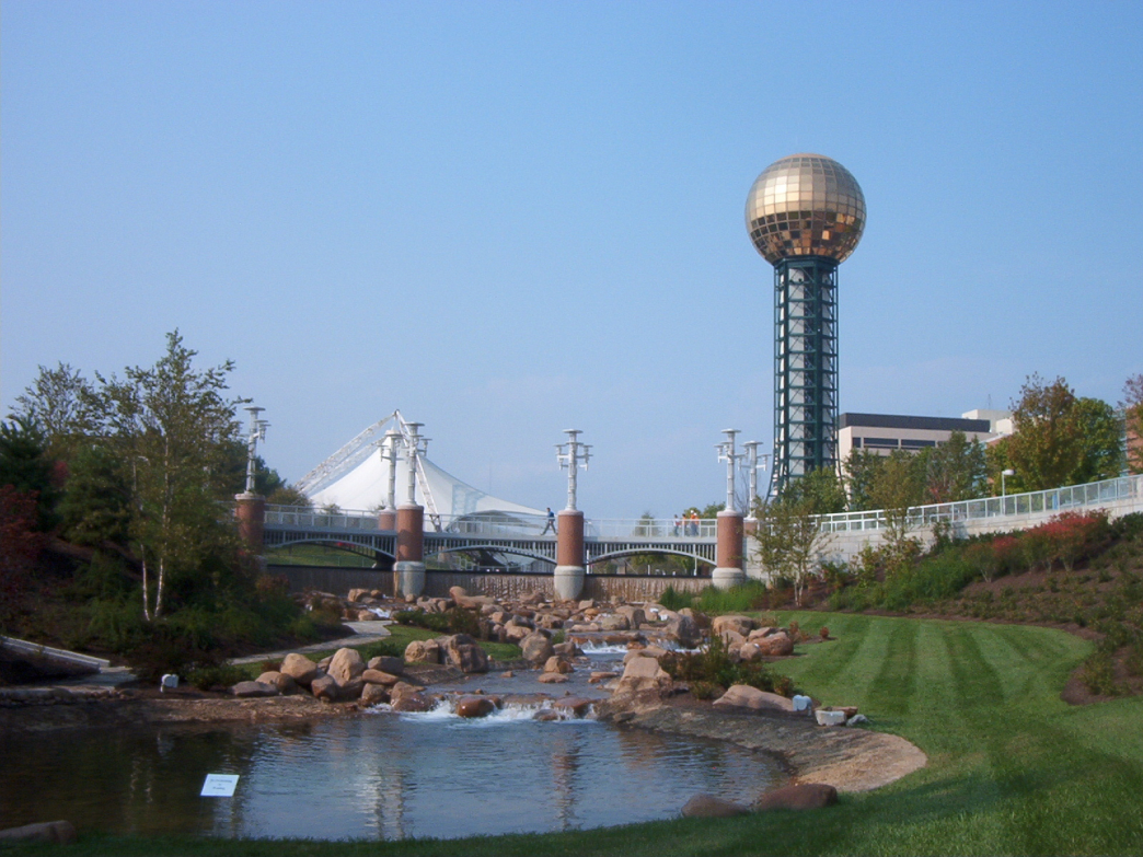 A run through downtown can include a visit to World's Fair Park.