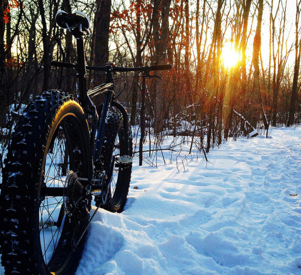 Fat biking in Washington is becoming more popular and offers another option for winter adventure.