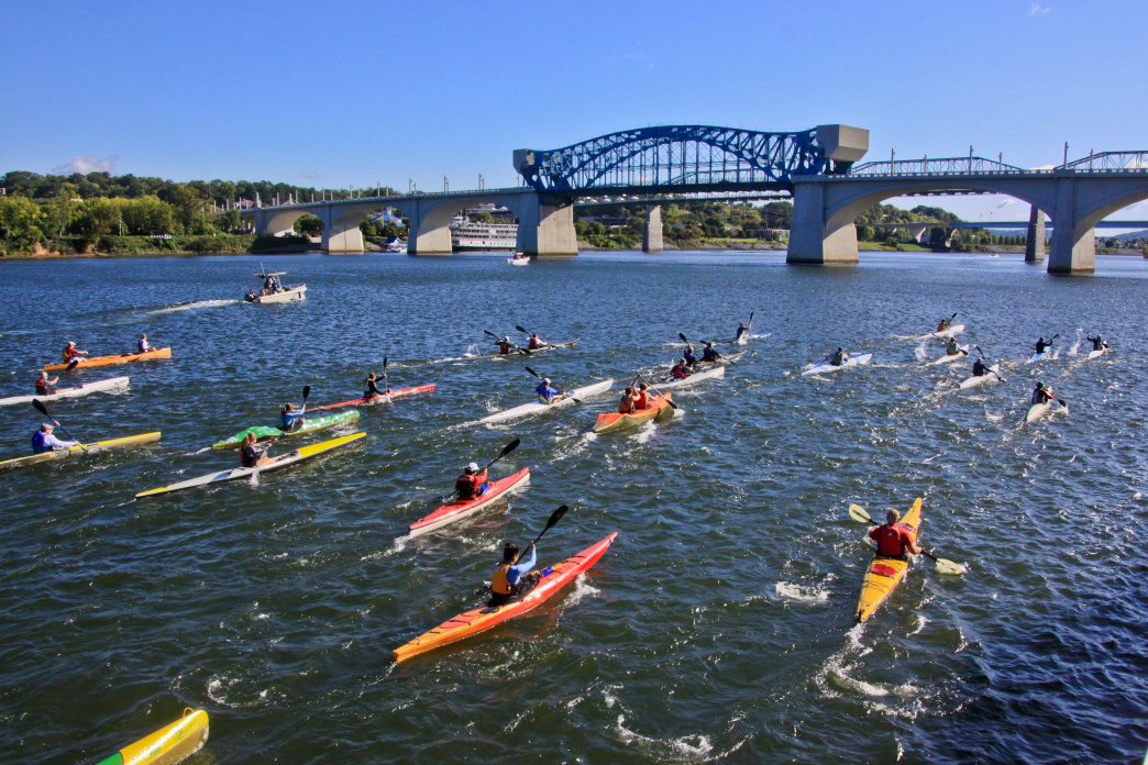 The RiverRocks festival in October offers dozens of different outdoor events to choose from, including multiple paddling competitions.