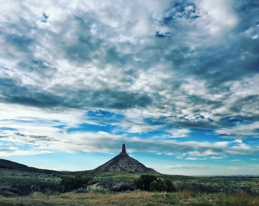 You may remember Chimney Rock from the Oregon Trail computer game.