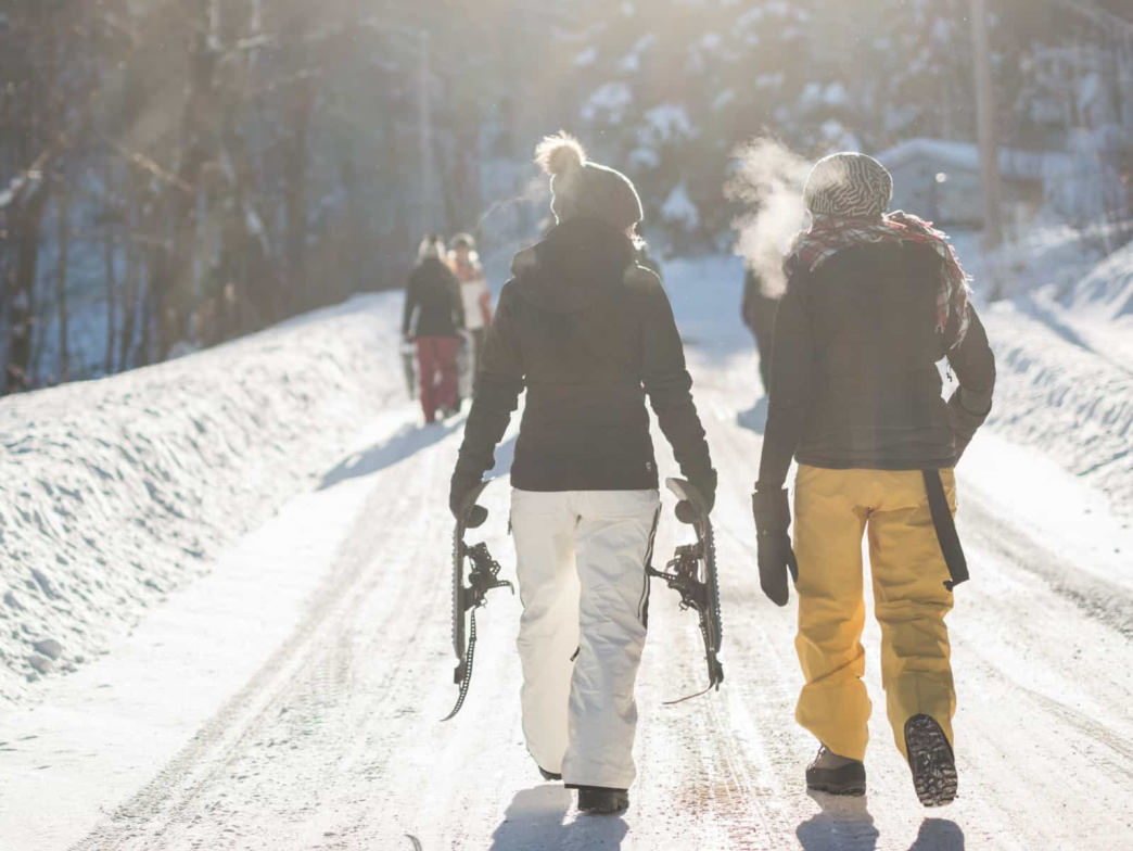 The town is becoming more known for the winter sports opportunities at the Taos Ski Valley.     Town of Taos