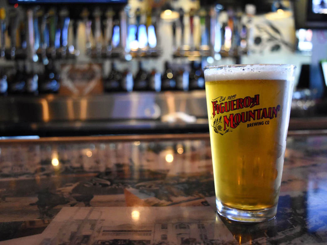 The family-owned Figueroa Mountain Brewing Co. offers craft beer in downtown Santa Barbara.