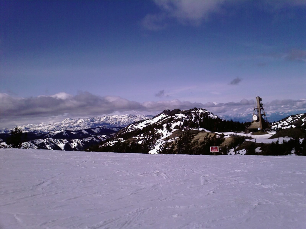Resorts like Mission Ridge can offer lovely solitude.