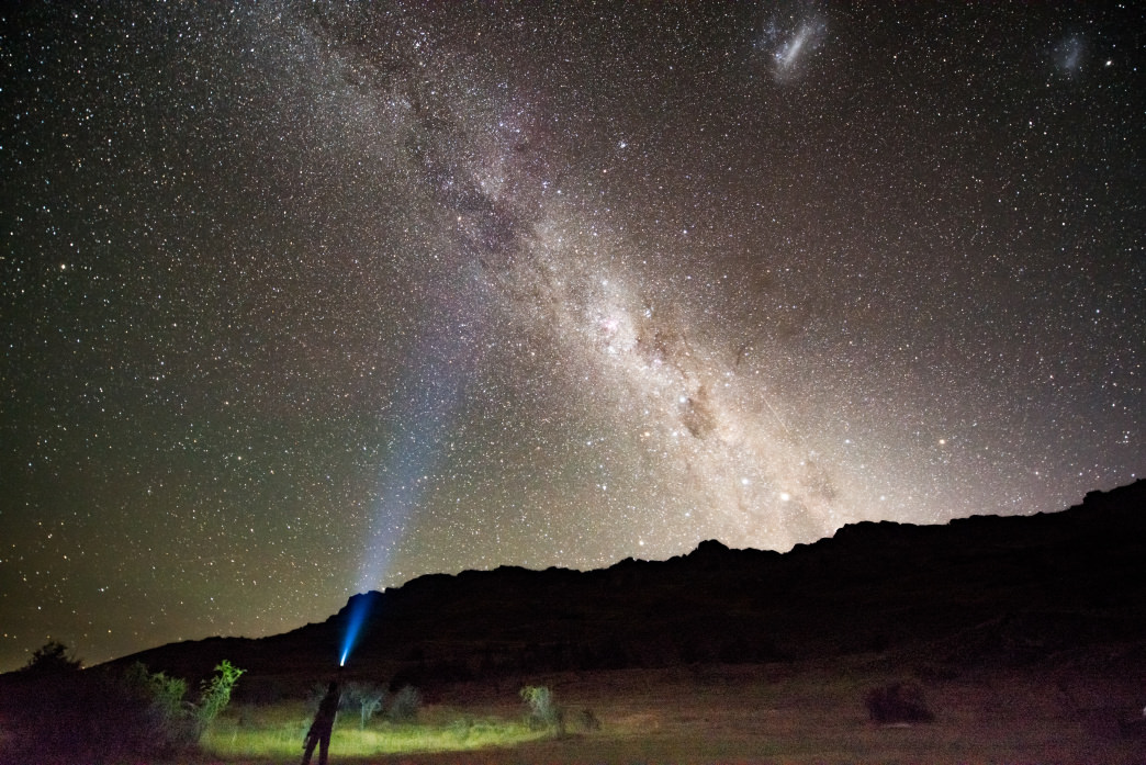 The Milky Way seen from Valle Chacabuco.