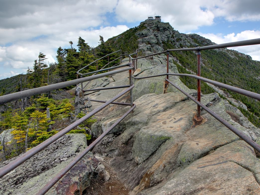 The hike up to the top of Whiteface Mountain in the Adirondacks gives you views for miles.