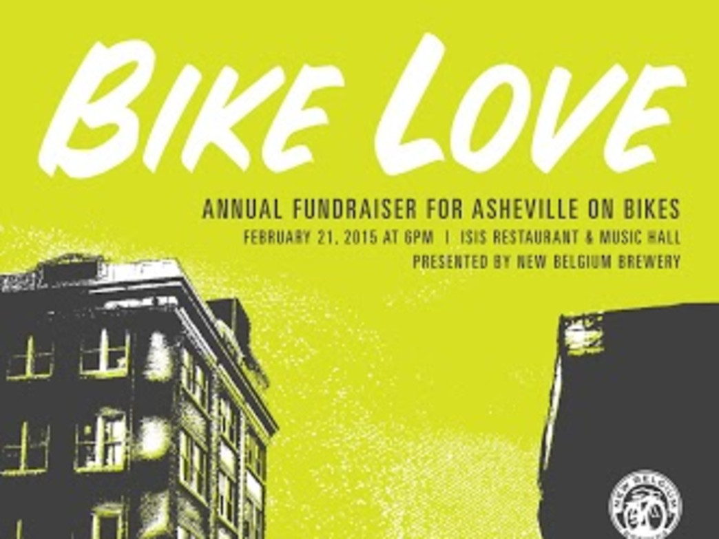 Asheville on Bikes Poster