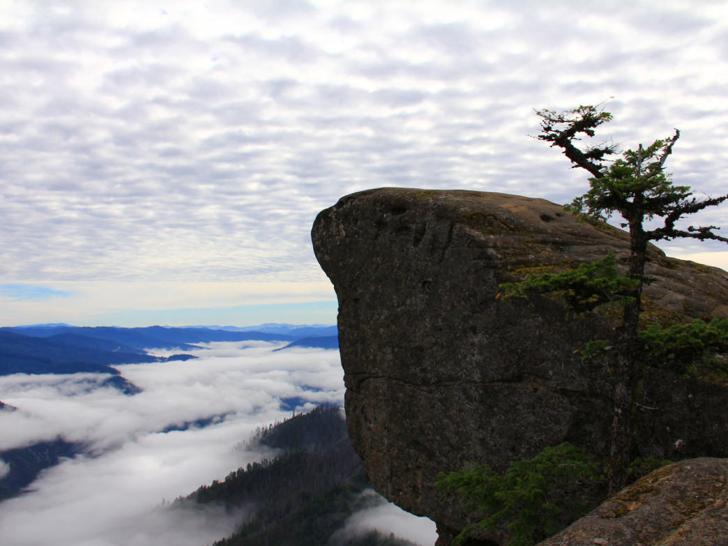 Hanging Rock, in the Wild Rogue Wilderness