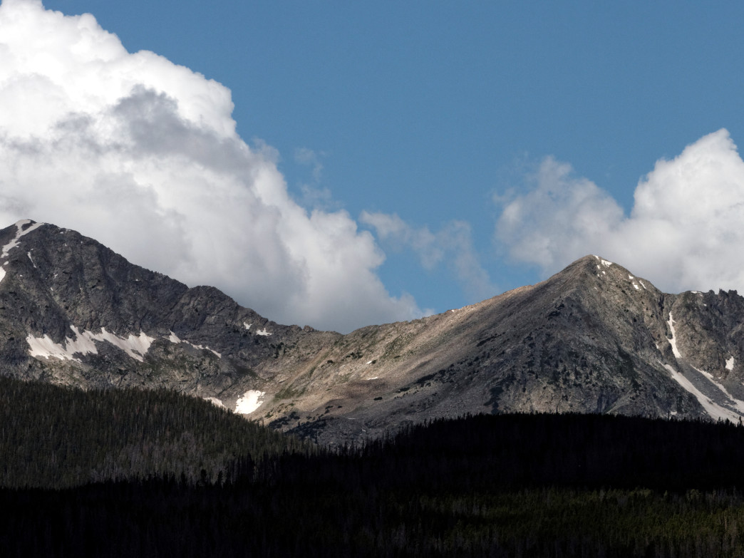 Tenmile Range, Colorado.