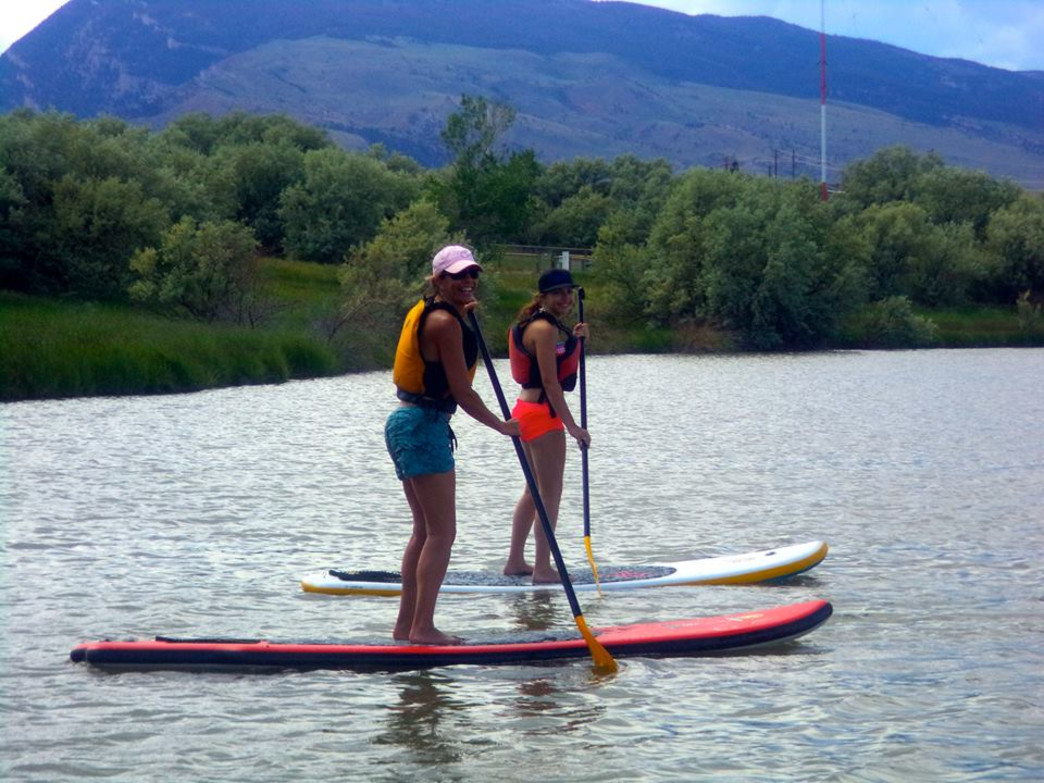 SUP on Beck Lake