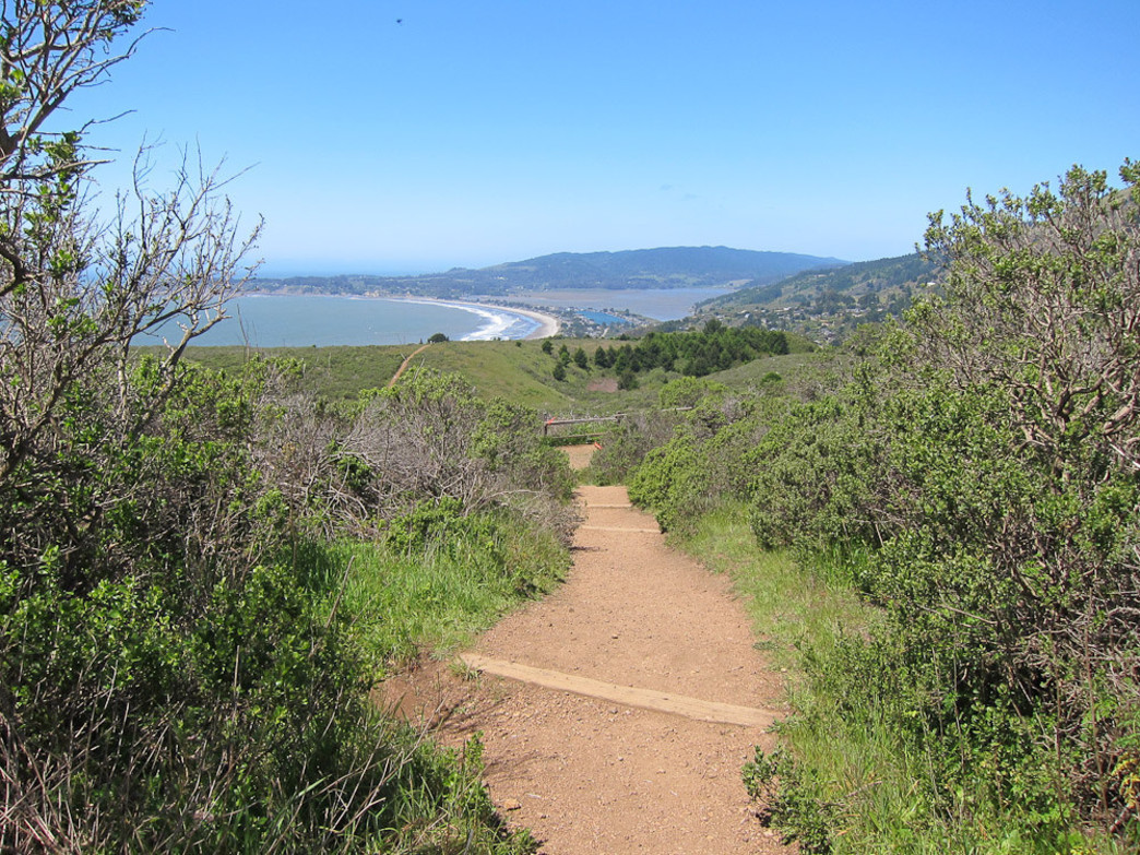Soak up beautiful views of the Pacific along Stinson Beach.