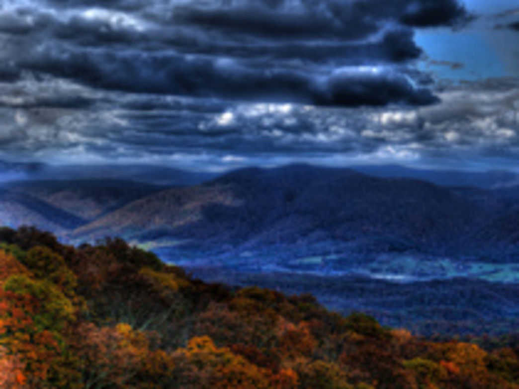 The Grayson Highlands—the site of Jane Roane's proudest moment in her running life
