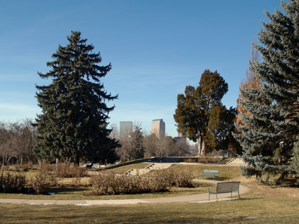 Cheesman Park is a go-to spot for Denver runners.