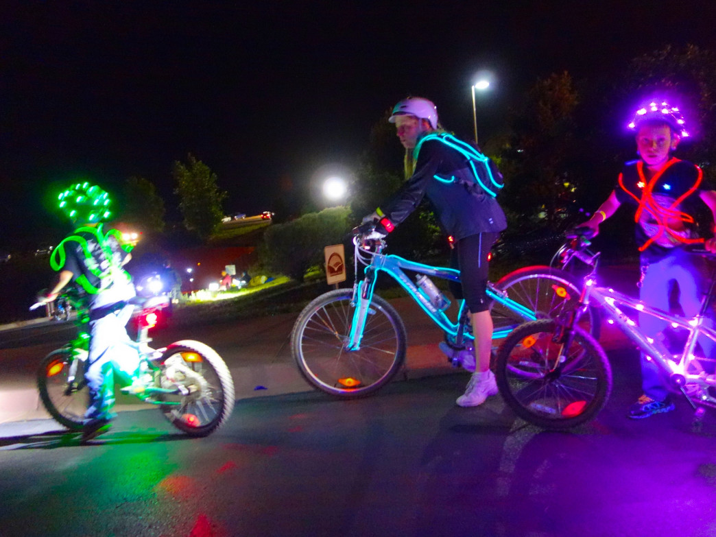 The Starlight Spectacular bike ride is a great reason to stay up past bedtime.
