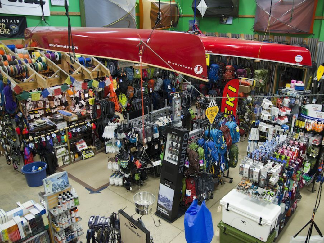 River Sports is a great spot to shop whether you are looking to do some paddling or need some new gear for running or anything in between.