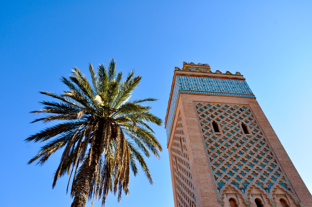 Marrakesh mixes old and new, with ancient structures along with chic art galleries. Julia Rogers